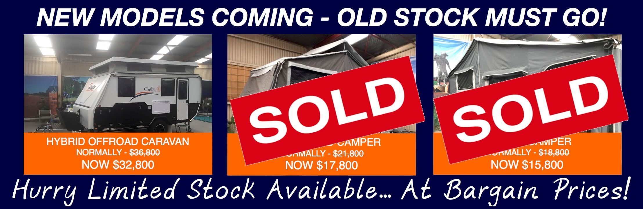 August Camper Trailer Sale Updated