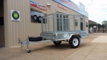 7x4 Cage Trailer