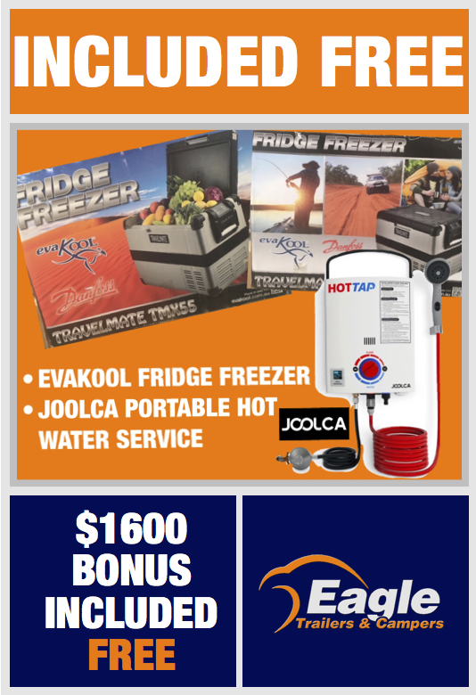 Adelaide Camper Trailer Bonus Offer